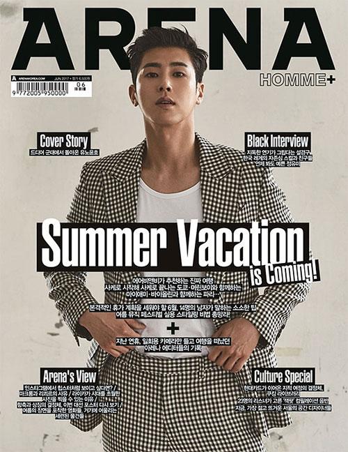 ファッション誌<ARENA HOMME +>