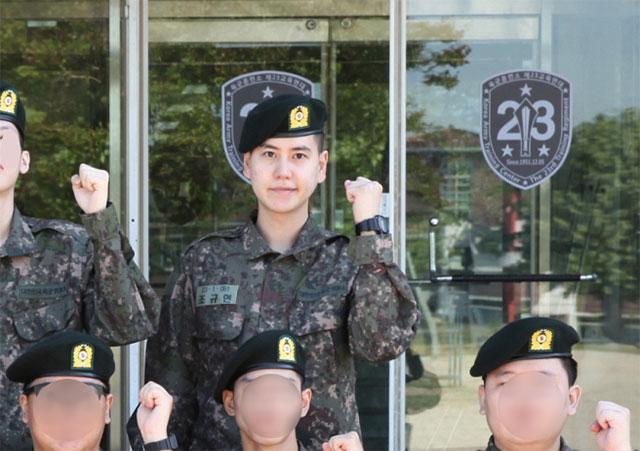 韓国陸軍訓練所のHPより
