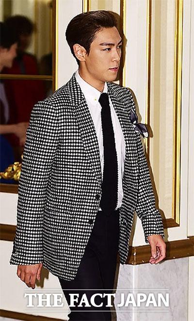 BIGBANGのT.O.Pが在宅起訴された。