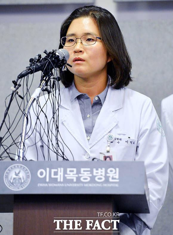 緊急入院したT.O.Pの主治医が会見を行い、T.O.Pの現在の状態を伝えた。