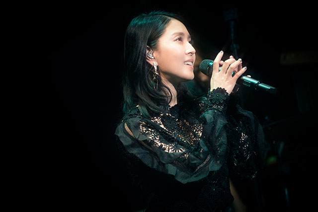 "BoAが""ビルボード""にて「BoA THE LIVE in Billboard Live」を開催した。"