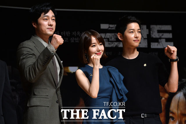 (写真左側から)ソ・ジソプ、イ・ジョンヒョン、ソン・ジュンギ