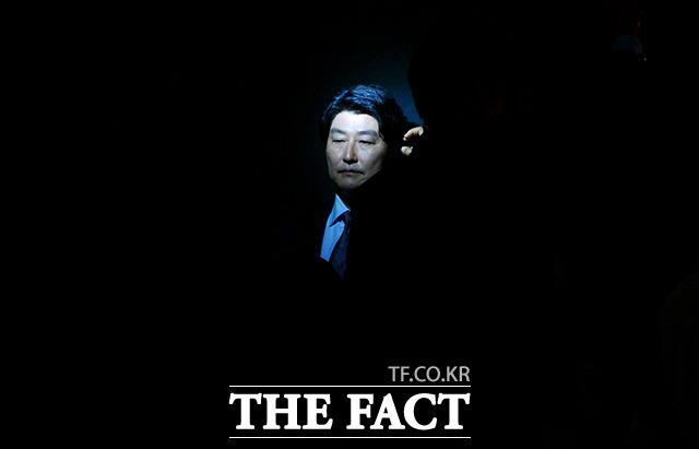 20日午前、ソウル江南(カンナム)区 狎鴎亭(アックジョン)の映画館で開催された映画「タクシー運転手」の制作発表会に、主演のソン・ガンホらが出席。
