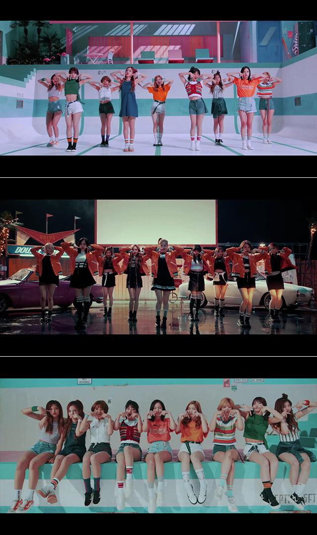 TWICE「TT –Japanese ver.-」MUSIC VIDEOより