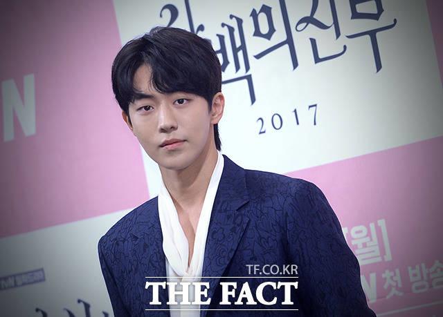 ナム・ジュヒョクが27日午後、ソウル市内にあるインペリアルパレスホテルで開催されたtvNドラマ「河伯の花嫁2017」の制作発表会に出席した。