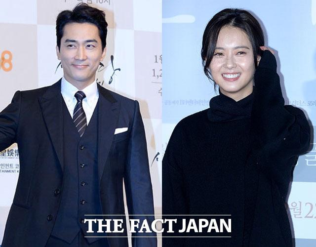 ソン・スンホン(左)とAraが新ドラマ「ブラック」に出演する。