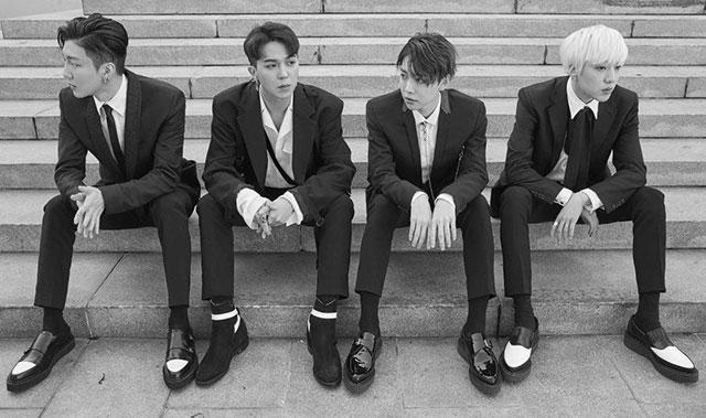 "YG ENTERTAINMENTのボーイズグループ""WINNER""。"