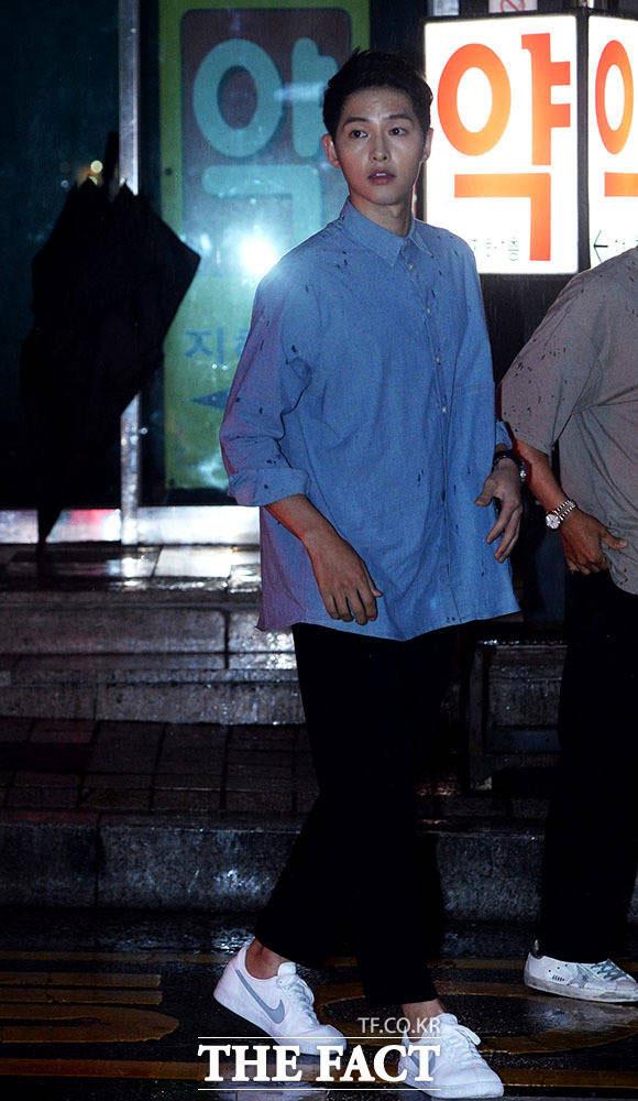 ソン・ジュンギが7日、ソウル・江南の某スタジオで開かれた映画「軍艦島」トークイベントに出席した。