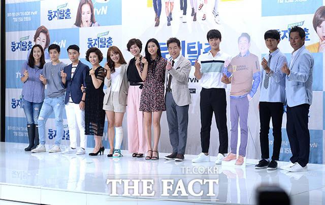 10日午後、tvNバラエティ「実家脱出」の制作発表会が開催された。