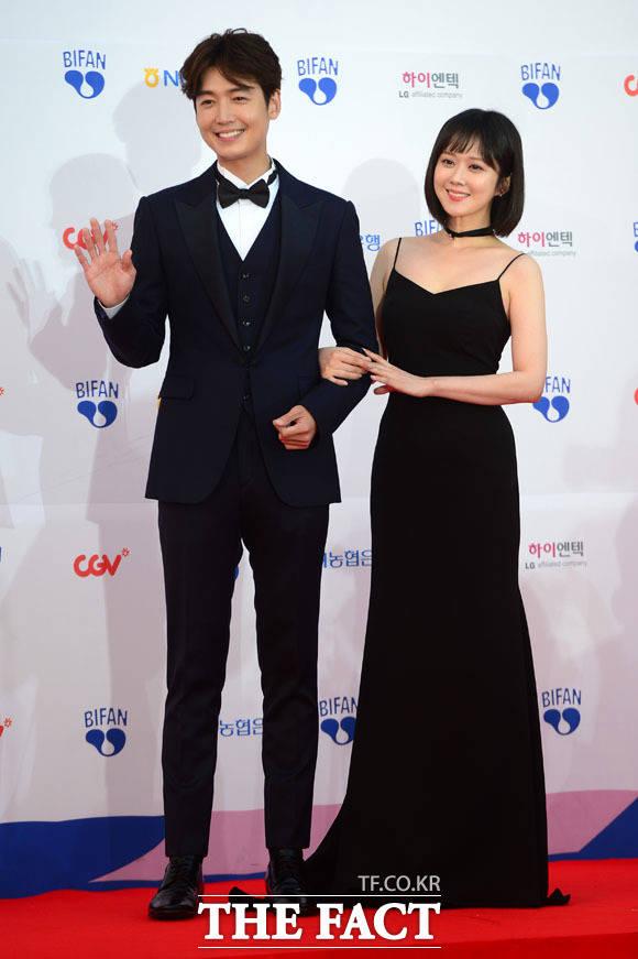 チョン・ギョンホとチャン・ナラが13日午後、第21回富川国際ファンタスティック映画祭に登場。