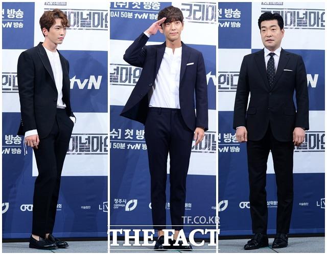 (写真左側から)コ・ユン、イ・ジュンギ、ソン・ヒョンジュ