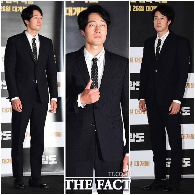 19日午後、ソウル市内で映画「軍艦島」のマスコミ試写会が開催され、俳優のソ・ジソプが出席した。