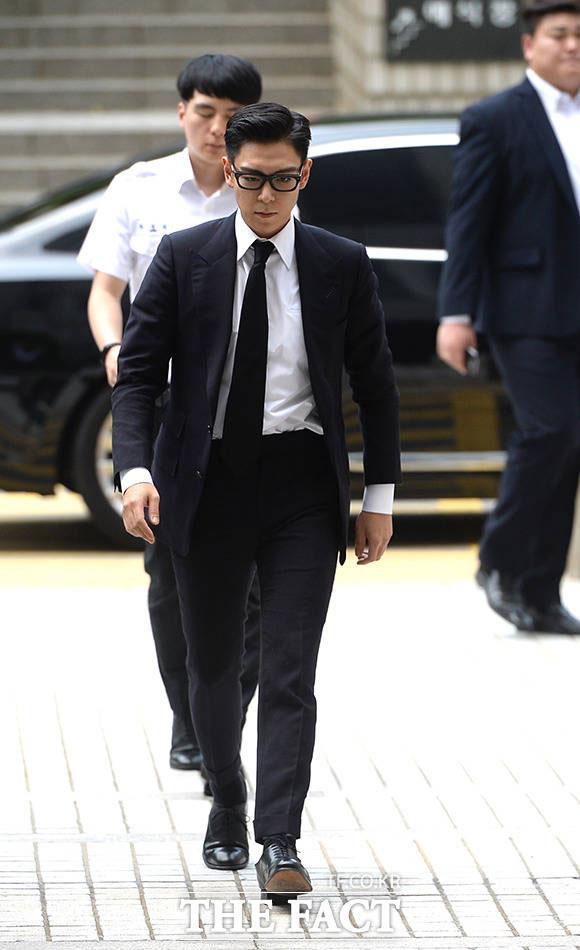 ソウル中央地方裁判所では20日、麻薬類管理に関する法律違反容疑で起訴されたT.O.Pの裁判が開かれた。