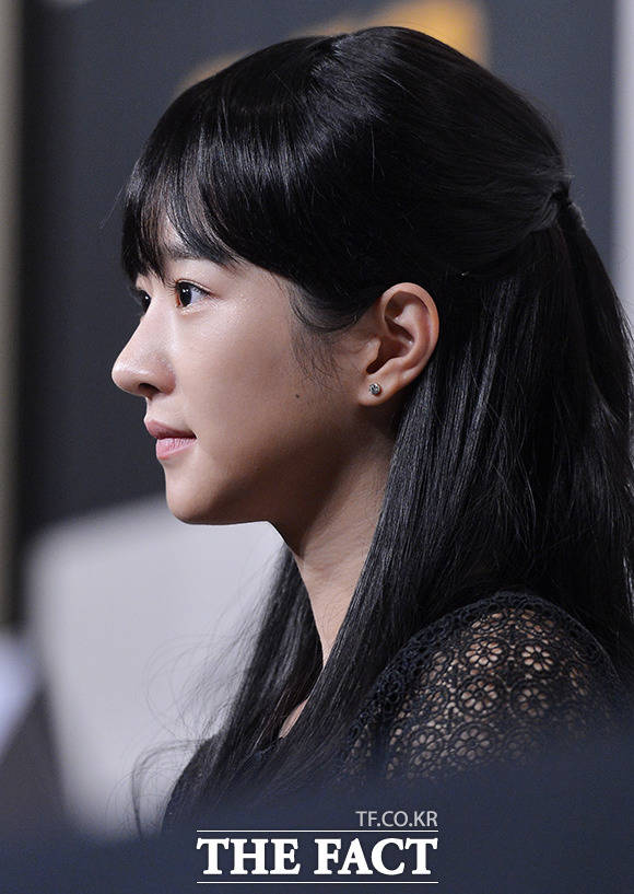 27日午後、ドラマ「助けて」の制作発表会に、女優のソ・イェジが出席した。