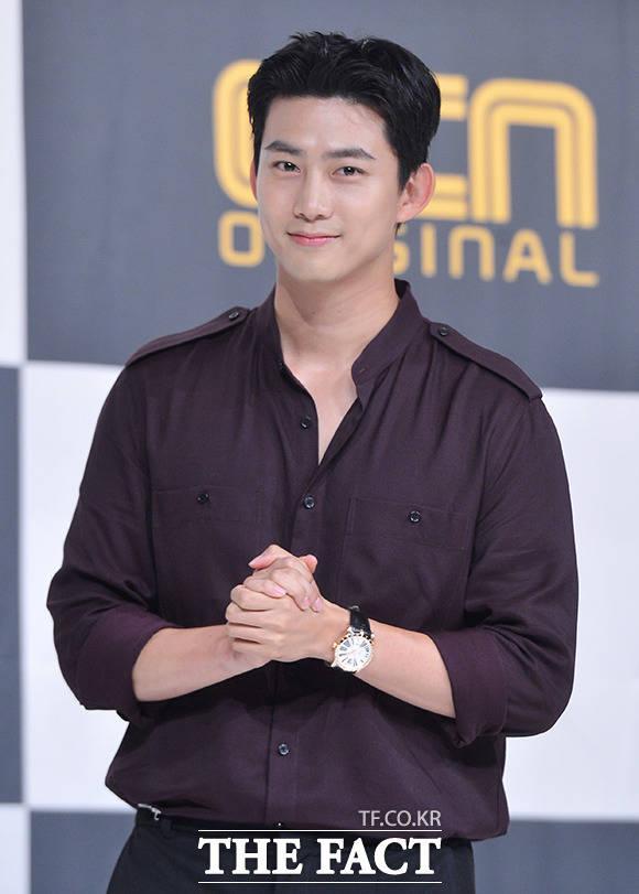 27日午後、ドラマ「助けて」の制作発表会に、2PMのテギョンが出席した。