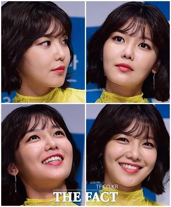 少女時代のスヨンがJTBCのウェブドラマ「知るかもしれない人」の制作報告会に出席した。