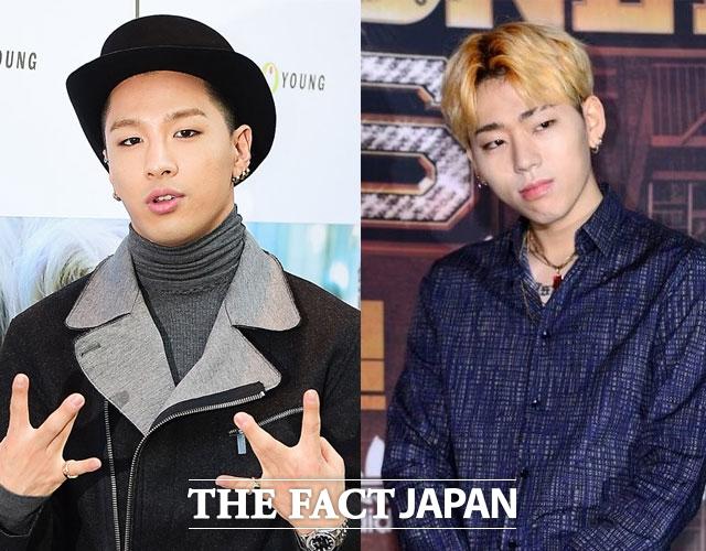 Block Bのジコ(右)が、BIGBANGのSOLが準備するソロアルバムに参加する