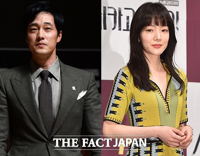 2004年に大ヒットした韓国ドラマ『ごめん、愛してる』の主人公のソ・ジソブとイム・スジョン(右)。