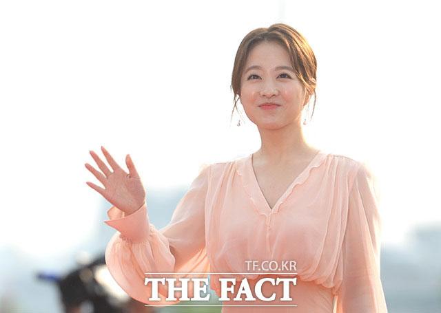 人気女優のパク・ボヨンが7日、ソウル・KBS社でおこなわれた「ソウルドラマアワード2017」に出席した。