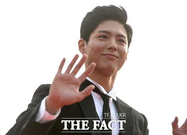 人気俳優のパク・ボゴムが7日、ソウル・KBS社でおこなわれた「ソウルドラマアワード2017」に出席した。