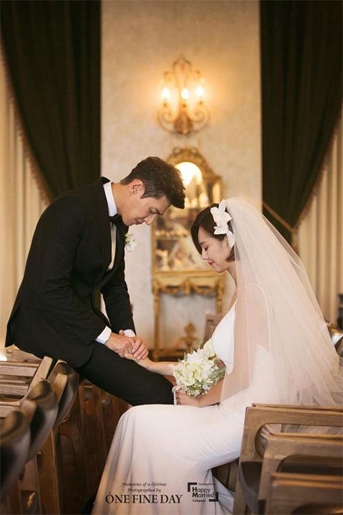 ソン・ジェヒとチ・ソヨンが非公開で結婚式を挙げた。|ハッピーメリード・カンパニー、RYOHAN+ANNEJANG