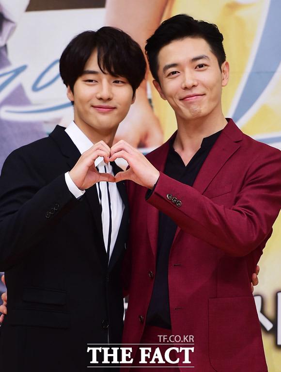 14日午後、ソウル市内でSBS月火ドラマ「愛の温度」の制作発表会がおこなわれた。
