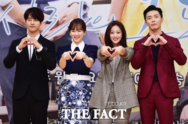 (写真左側から)ヤン・セジョン、ソ・ヒョンジン、チョ・ボア、キム・ジェウク
