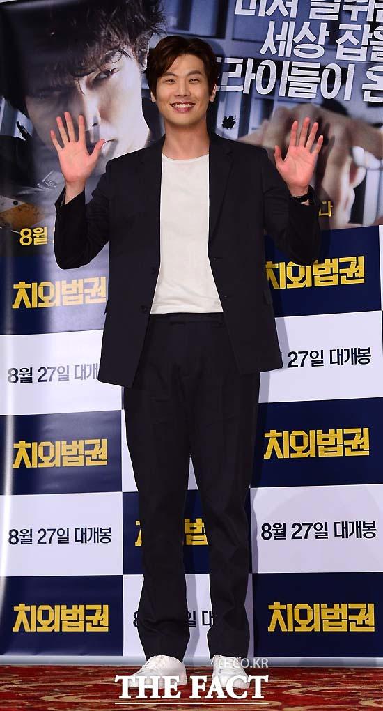 俳優のチェ・ダニエルが約2年間の軍服務を終えて除隊した。