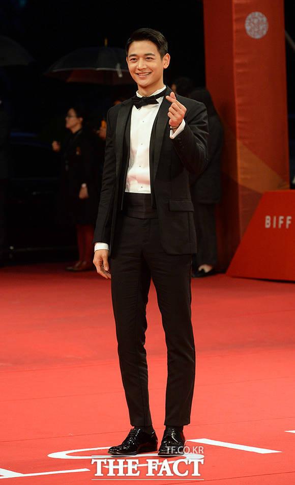 SHINeeのミンホが12日、韓国・釜山で開かれた第22回釜山国際映画祭の開幕式に登場した。|イム・セジュン