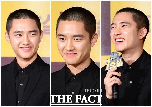EXOのディオが16日午前、ソウルで開かれた映画「7号室」の制作発表会に出席した。|ナム・ヨンㇶ