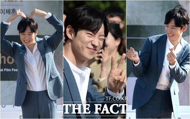 俳優のイ・ジェフンが14日、釜山・海雲台(ヘウンデ)で行われた「第22回釜山国際映画祭 オープントーク」イベントに参加している。|イム・セジュン記者