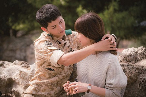 Licensed by Next Entertainment World (C)2016 Descendants of the Sun SPC