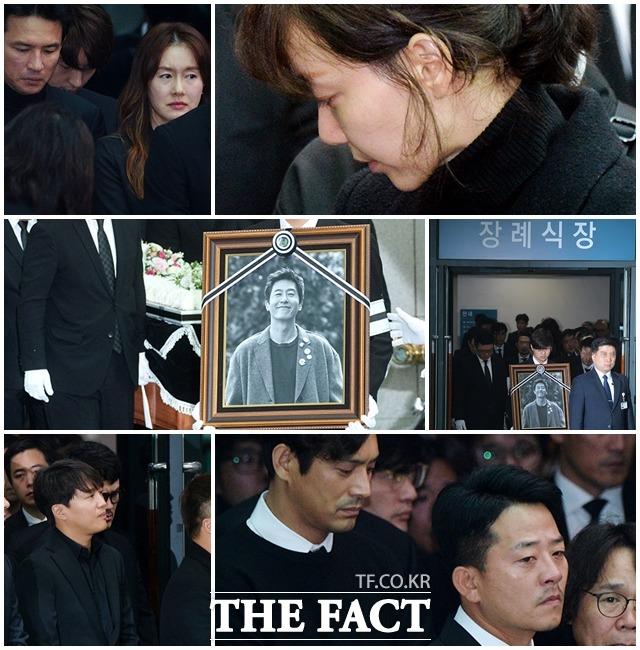故キム・ジュヒョクさんの出棺が2日午前、ソウル峨山(アサン)病院で行われた。