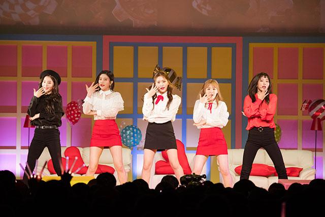 Red Velvet(読み:レッドベルベット)。