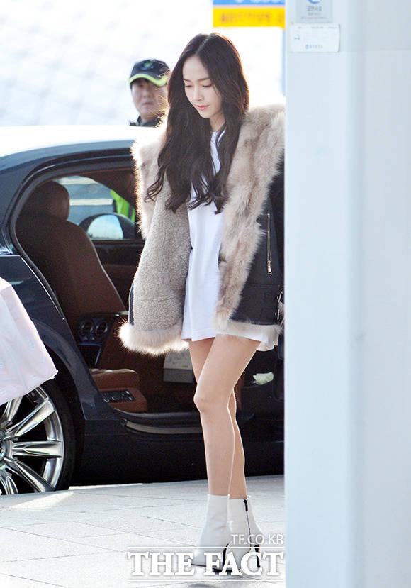 歌手のジェシカが、台湾で開催されるイベントに出席するため、29日午後、仁川(インチョン)国際空港から出国している。