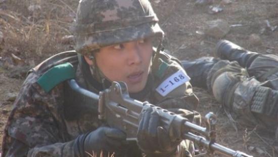 写真:陸軍8師団 新兵教育隊公式HPより