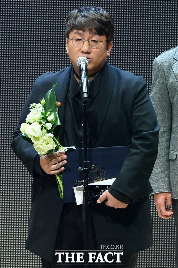 パン・シヒョク氏。|撮影:ナム・ユンホ