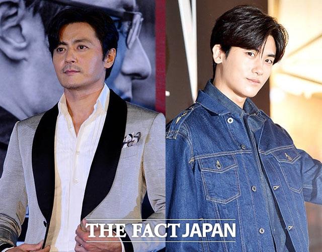 チャン・ドンゴン(左)とパク・ヒョンシクの共演ドラマ「スーツ」が来年4月に放送される。