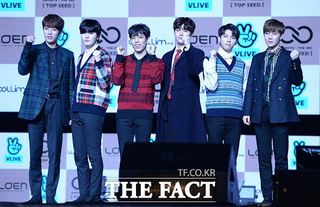 INFINITEが8日、ソウルで3rdアルバム「TOP SEED」のショーケースを開いた。