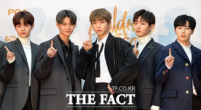 Wanna Oneが10日、韓国・高陽(コヤン)市で行われた「第32回ゴールデンディスクアワード」に出席した。