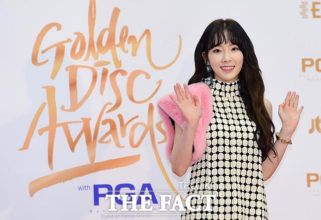 少女時代のテヨンが11日、韓国・高陽(コヤン)市で行われた「第32回ゴールデンディスクアワード」に出席した。