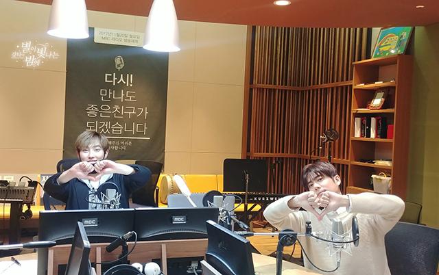 MBC標準FM「カンタの星が輝く夜に」
