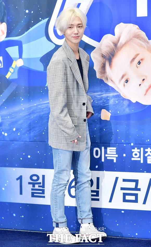 SUPER JUNIORのイェソンが23日午後、ソウルで行われたXtvNの新バラエティ番組「SUPER TV」制作発表会に出席した。