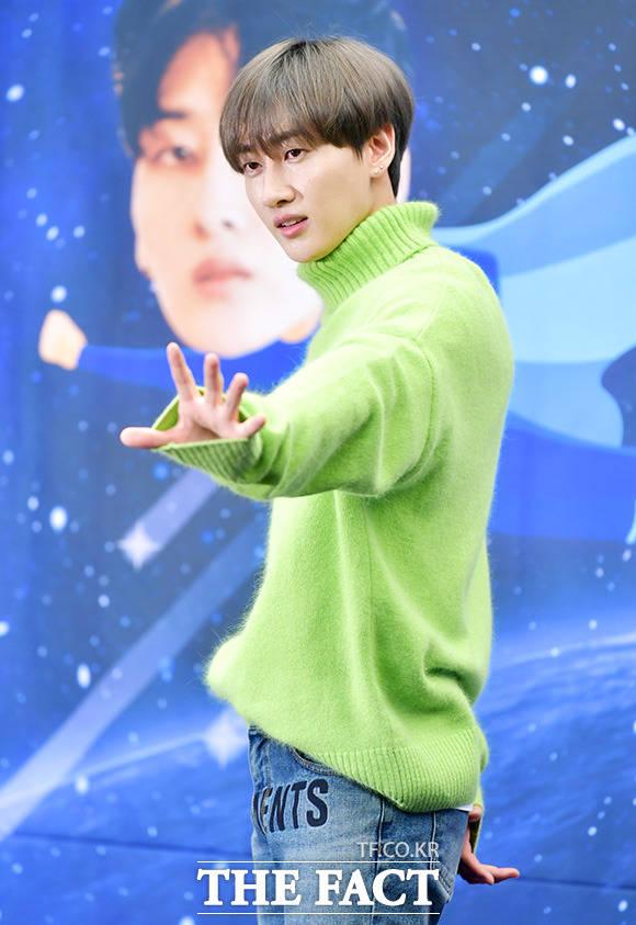 SUPER JUNIORのウニョクが23日午後、ソウルで行われたXtvNの新バラエティ番組「SUPER TV」制作発表会に出席した。