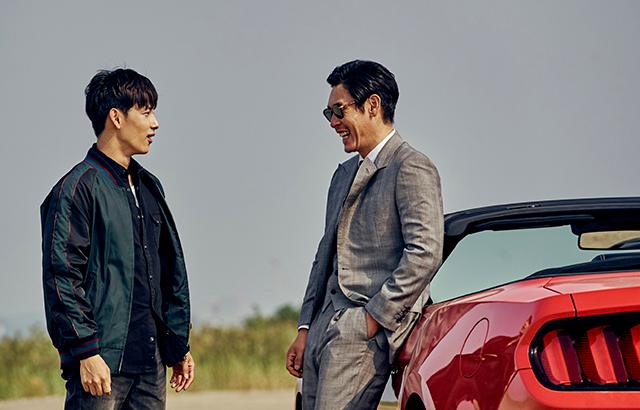 ソル・ギョング(右)とイム・シワン主演作『名もなき野良犬の輪舞』の日本公開が決定した。|ⓒ 2017 CJ E&M CORPORATION ALL RIGHTS RESERVED