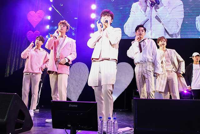 B1A4がファンミーティング「The Romantic Season, 2018」を2月9日、東京・豊洲PIT昼夜2公演を開催した。