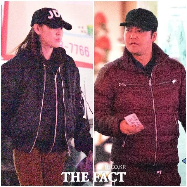 タレントのチョン・ヒョンムとモデルのハン・へジンが恋人関係に発展した。