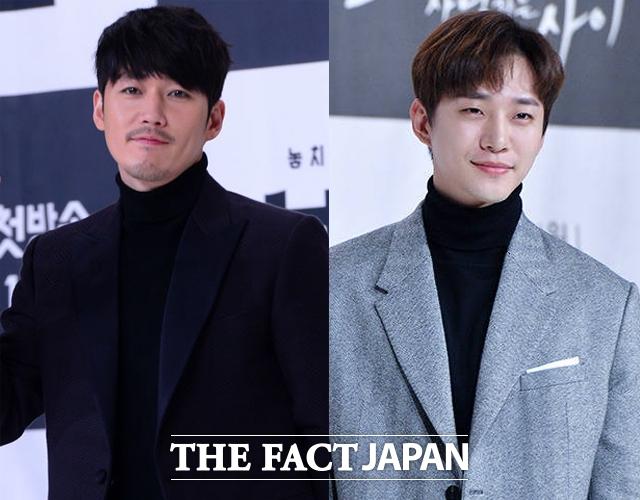 2PM ジュノとチャン・ヒョク(左)がSBS新ドラマ「油っぽいメロ(原題)」への出演を検討中だ。