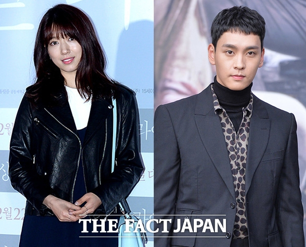 女優のパク・シネと俳優のチェ・テジュンが熱愛を認めた。