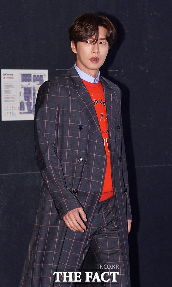 映画「チーズ・イン・ザ・トラップ」マスコミ試写会が7日、ソウルで行われた。写真は同映画の主人公ユ・ジョンを演じるパク・ヘジン。|撮影:イ・ドンリュル